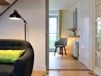 The lounge to the master bedroom and beyond with ...