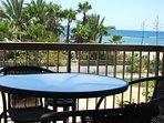 balcony and beach view