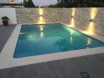 Enjoy an early evening swim!