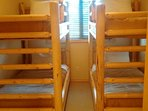Two Twin Bunk Bed Room