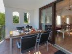 Living terrace (2nd floor)