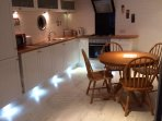 Kitchen view fitted with all your needs for your holiday