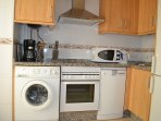 fully equipped kitchen, everything you need