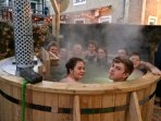 8-10 seater nordic style hot tub