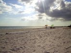 Another beautiful day on the Sanibel sand!