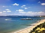 Bournemouth beaches are a 5 minute drive away (half mile)