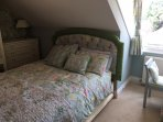 Master bedroom with hairdryer proivded
