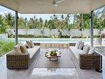 Welcome to caSabama Estate, Saba Bay, Bali - Villa Sandiwara Living Room
