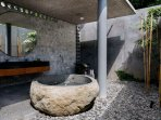 Master Bathroom at Villa Sandiwara (4 bedrooms), caSabama Estate