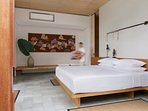 Villa Sandiwara Master Bedroom at caSabama Estate, Saba Bay, Bali