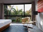 Upstairs Guest Suite at Villa Panjang, caSabama Estate, Saba Bay, Bali