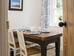 Your cosy dining room