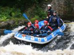 White water rafting close by