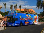 free bus to siam park, bus stop in 5 min by walk