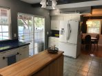 Kitchen with Dining Room View