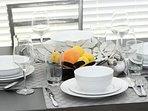 Elegant dining area