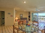 The beautiful interior boasts tons of natural light and an open concept layout!