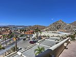 Look out on the lively Cabo San Lucas!