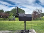 Step outside to grill your favorite meals on the charcoal grill!