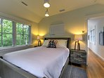 You'll love curling up at night in the comfort of this beautiful queen bed!