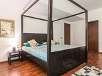All bedrooms have king sized beds