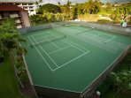 There are 6 Championship Tennis Courts at Maui Vista