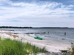Take a walk with  your toes in the sand and wade through the refreshing Chesapeake Bay waters.