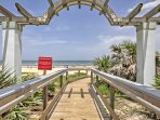 Ormond Beach boasts a pristine shoreline and a small town feel, just a short walk from the home!
