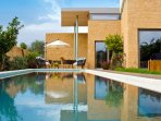 The villa has been built by a famous Greek achitect
