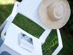 Enjoy relaxing in our garden!