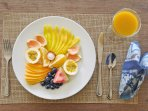 Fruit Plate with Breakfast