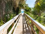 Beach access within seconds of your front door!