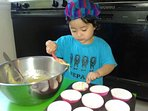children activities in our fully equipped kitchen