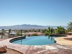 Enjoy fantastic views from your private pool deck at this Lake Havasu City vacation rental house!