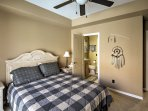 Drift off to peaceful slumbers in one of six comfortable bedrooms.