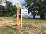 Walk to public beach and rentals at Lake Macatawa, 1/4 mile from the Farmhouse