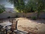 Back yard of Yavapai House