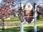Eight (8) Minute Drive to Hernder Estate Wines