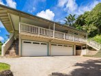 Parking, Covered Garage and the Upper Level Covered Lanai
