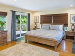 2nd Bedroom with Lanai on the Mountain Side - Upper Level