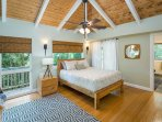 Master Bedroom with Large Closet and Additional Walk-In Closet - Upper Level