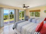 4th Bedroom with Ocean Views - Lower Level