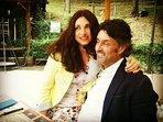 Gabrielle e Maurizio i proprietari di casa Orsola.