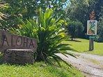 Entrance to Kohala Country Haven