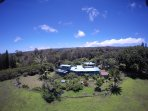 Kohala Country Haven Drone View