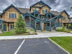 Relish the home's spacious accommodations and beautiful wood exterior!