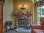 You'll love starting the fireplace on colder days to keep warm as you cuddle in the living room.
