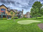 Be sure to play your hand at golf while staying here!