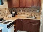 Newly renovated kitchen, 2016