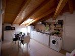 Duomo home design-kitchen/living